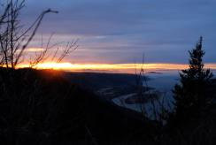 sunset at angels rest 2