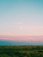 Moonrise Near Pendleton