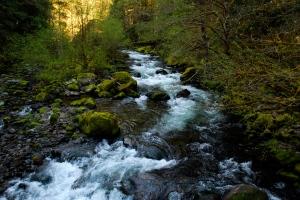Cold, Cold Eagle Creek